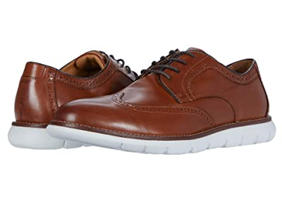 Johnston & Murphy Holden Wing Tip (Tan Full Grain) Men