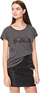 ONLY T-Shirts For Women, Grey Melange M