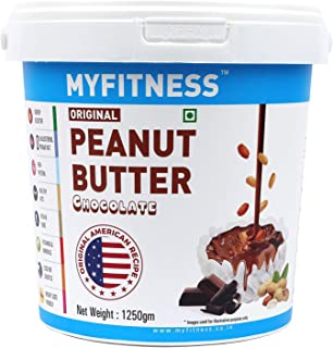 MYFITNESS Chocolate Peanut Butter 2.5kg (1.25kg X Pack of 2)