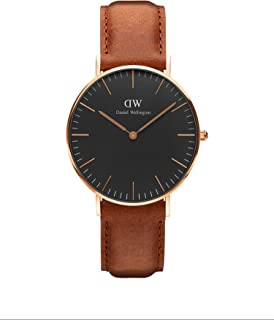 Classic Durham Watch, American Brown Leather Band