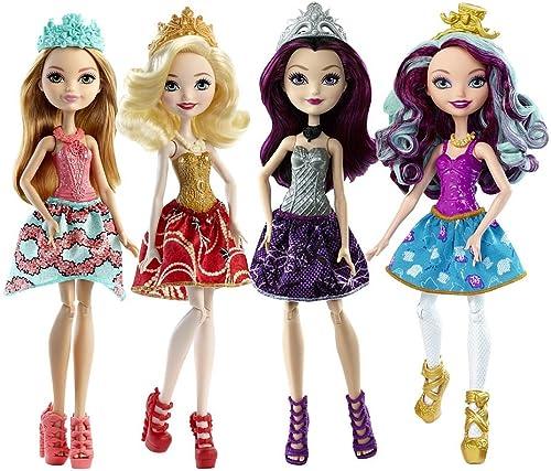 Ever After High Dolls 4 Pack - Raven Queen, ApÃle Weiß, Madeline Hatter, Ashlyn Ella