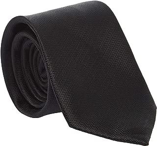 Pierre Cardin Slim Neck Tie for Men - Free Size, Black