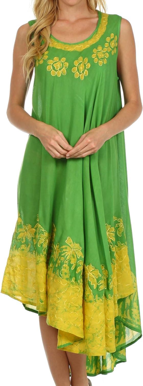 Sakkas Sundari Caftan Tank Dress/Cover Up