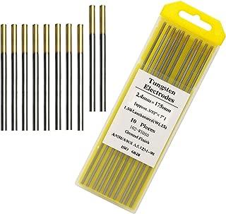 Tig Welding Tungsten Electrodes 1.5% Gold Lanthanated Tungsten 3/32