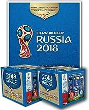 Panini 2018 FIFA WORLD CUP RUSSIA ALBUM + 2 BOXES