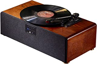 High quality Vinyl Records,Turntable Record Player with Built in Speakers, Supports RCA Output, Headphone Jack, MP3, Mobil...