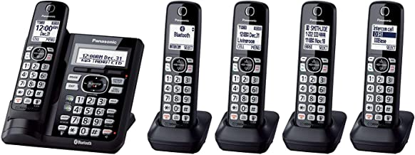 Panasonic 5 Handset Cordless Phone with Link2Cell