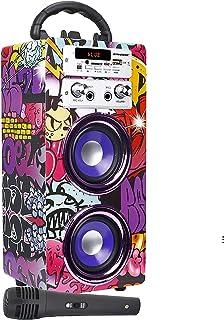 głośnik; karaoke; 025-12; bluetooth; radio; 12; dynasonic; mikrofon; fm; model