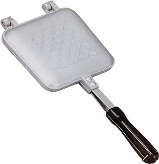 コーベック 直火式ホットサンドメーカー シルバー サイズ:約35.3×横幅15.2×3cm(取っ手含む)