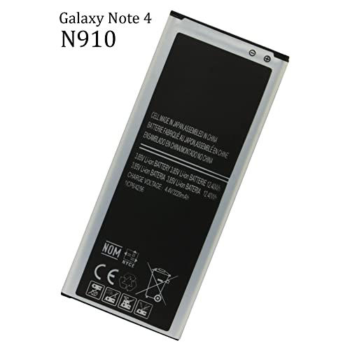 bdd43825dc0 Bastex Note 4 Battery 3220 mAh Li-Ion Battery for the Samsung Galaxy Note 4