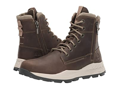 Timberland Brooklyn Side Zip Boot (Olive Full-Grain) Men