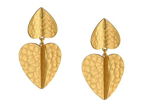 Kate Spade New York Metal Petal Drop Earrings