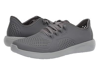 Crocs LiteRide Pacer (Charcoal/Light Grey) Men