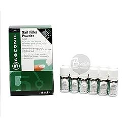 IBD 5 Second Nail Filler Powder - Clear 4 g