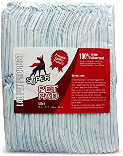 Foodie Puppies Training Pad for Dogs (50 Pieces) with Free Pop - Up