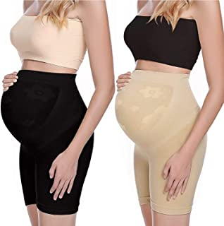 Maternity Shapewear for Dress 2 Pack Pregnancy Underwear Belly Support