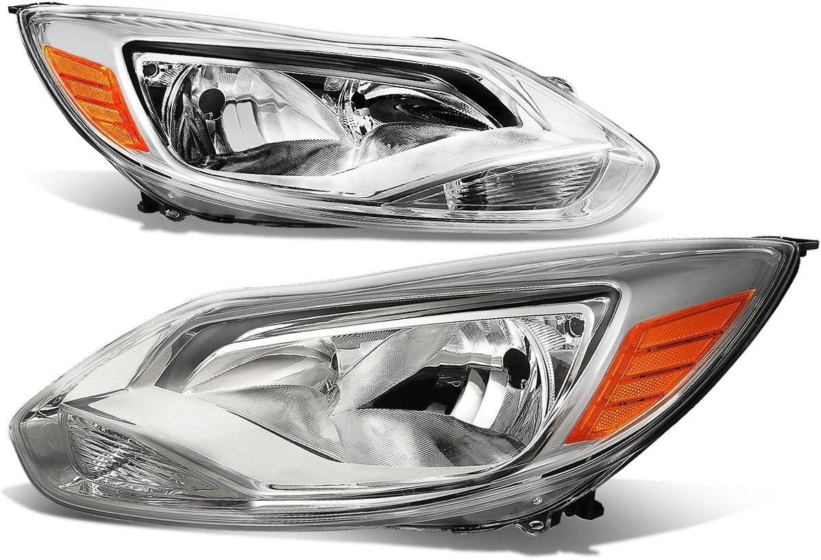 Pair of Chrome Housing セール特別価格 Amber Re 引き出物 Assembly Corner Lamps Headlights