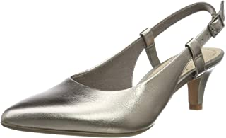 Clarks Linvale Loop, Women's Women Pumps, Gold (Pewter Leather), 3 UK (35.5EU)
