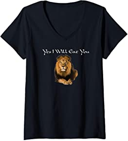 Funny African Lion T-Shirt