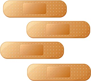 Large Funny Ouch Band Aid Bandage Bumper Sticker Truck RV Boat Window Auto Car Decal Dent Ding (4)