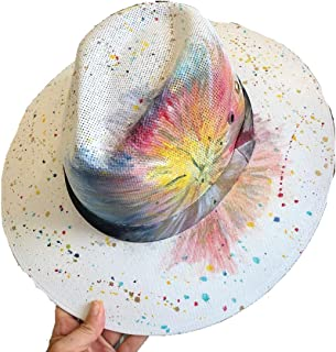 Generico Sombrero Artesanal Personalizado Pintado a Mano