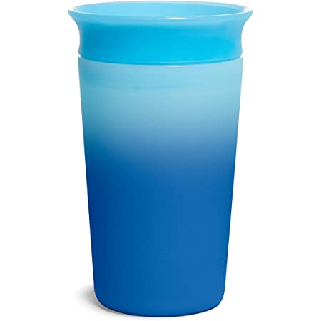 Munchkin Miracle 360 Color Changing Sippy Cup, 9 Oz, Blue