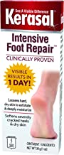 Kerasal Intensive Foot Repair, Deeply Moisturizes - Visible Results in Just 1 Day - 1 Ounce