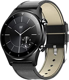 Smart Watch, E13 Laatste herensport Smartwatch voor iOS Android GPS-ondersteuning Stappenteller Ronde Screen Bluetooth Hor...