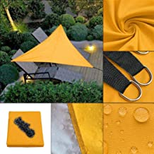 ADOSOUL Portable Triangle Shape UV Protection Outdoor Sunscreen Awning Canopy Shade Sails