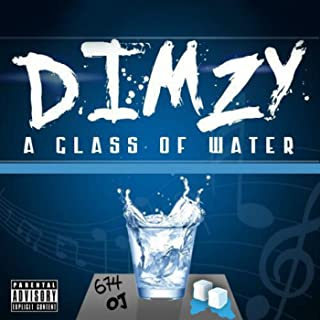 dimzy a glass of water