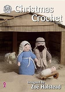 King Cole Christmas Crochet Book 3 - Amigurumi Nativity Scene Garland Baubles Wreath Penguin & More