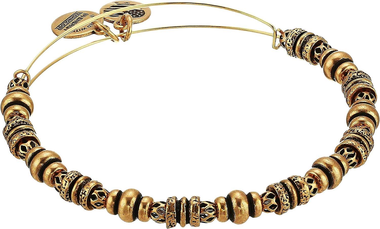 Alex and Ani Women's Spellbound Bangle Bracelet, Rafaelian Gold