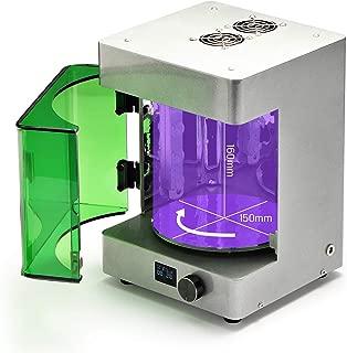 SainSmart UV Curing Chamber for SLA/DLP Resin 3D Printer, Curing Volume 150 x 150 x 160 mm