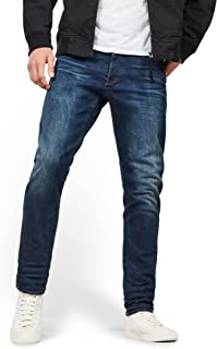 G-STAR RAW Men's 3301-straight Straight Tapered Jeans