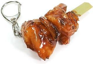 食品サンプルキーホルダー 食べちゃいそうな焼鳥ももたれ 163OK
