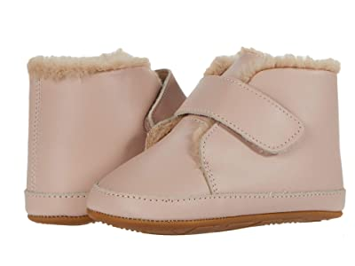 Old Soles Softly (Infant/Toddler) (Powder Pink) Girl