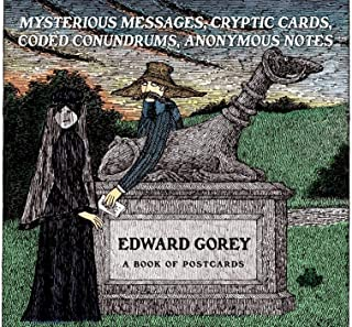 Mysterious Messages, Cryptic Cards, Coded Conundrums, Anonymous Notes Book of Postcards