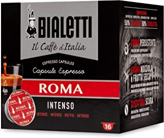 Bialetti Roma Espresso Capsules, 128 Count