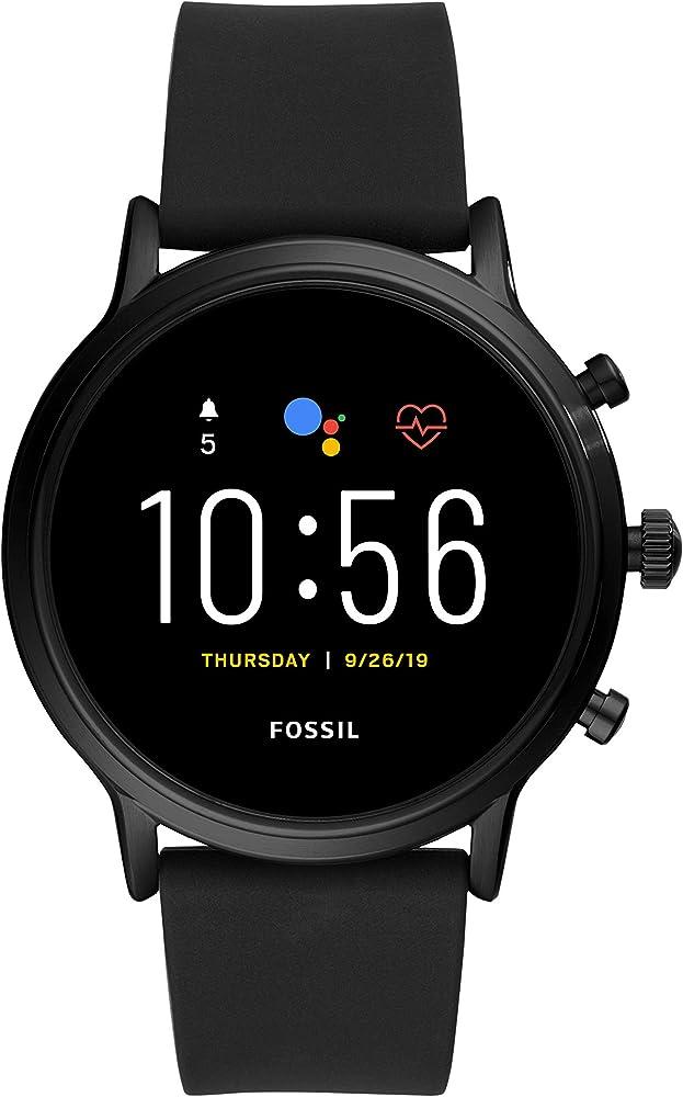 Fossil smartwatch gen 5 da uomo frequenza cardiaca, gps, touchscreen con altoparlante FTW4025