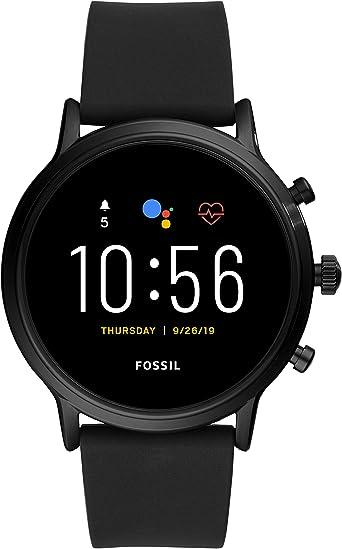 Fossil Connected Smartwatch Gen 5 + 5E para Hombre con tecnología Wear OS de Google, frecuencia cardíaca, NFC y notificaciones smartwatch