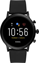 Fossil Gen 5 Carlyle Stainless Steel Touchscreen Smartwatch with Speaker, Heart Rate,..