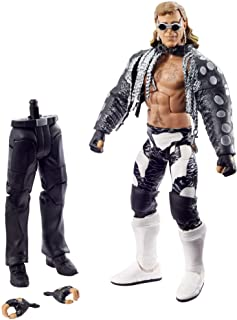 ​WWE Shawn Michaels WrestleMania Elite Collection Action Figure with Entrance Vest, Sunglasses and Paul Ellering and Rocco...