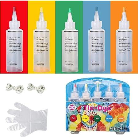 Kit de tinte tie-dye para algodón y lino de 3 colores #1 ...