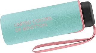 88 cm di diametro Colore Rosa Fucsia Ombrello Ultra Mini Donna Manuale United Colors of Benetton Otto Bastoncini