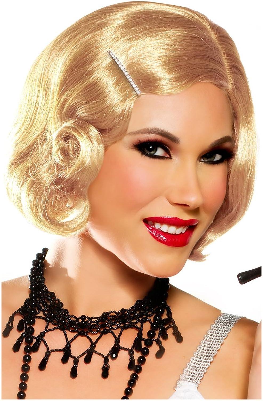 Goddessey Honey Blonde Pin Curl Cute Wig by Goddessey
