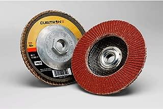 """5/"""" inch 7//8/"""" 60 GRIT GRINDING DISCS 3M 33415 CUBITRON II Abrasive Fibre Disc"""