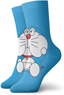 AIMHOUSE, Doraemon - Calcetines unisex para adultos, informales, con estampado de anime