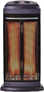 COSTWAY Electric Quartz Heater, Black