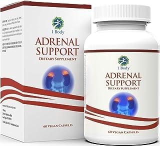 1 Body Apoyo adrenal - (vegetariana) - una fórmula compleja que contiene vitamina B12. B5. B6. magnesio. extracto