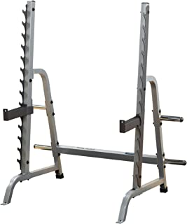 body solid commercial multi press squat rack
